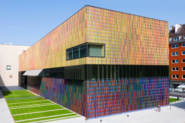 Virginia Duran Blog- Amazing and Colorful Buildings- Museum Brandhorst by Sauerbruch Hutton