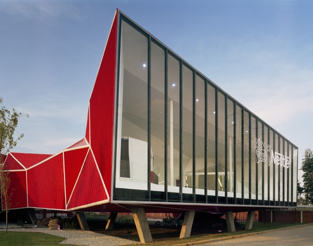 Virginia Duran Blog- Amazing and Colorful Buildings- Nestlé Chocolate Museum by Rojkind Arquitectos