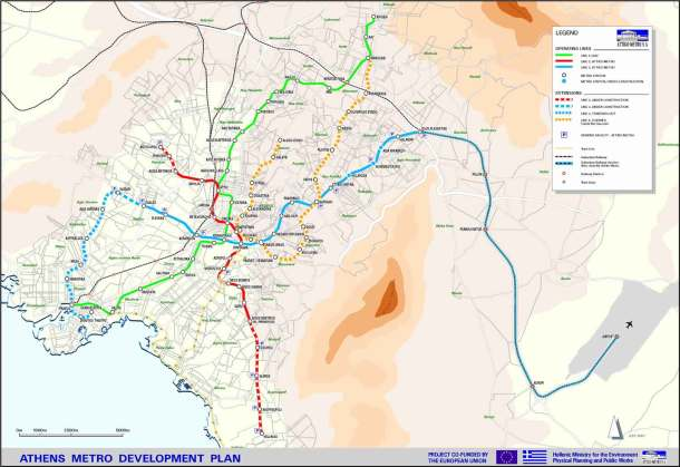 Virginia Duran Blog- Infographics- Subway Map- Athens