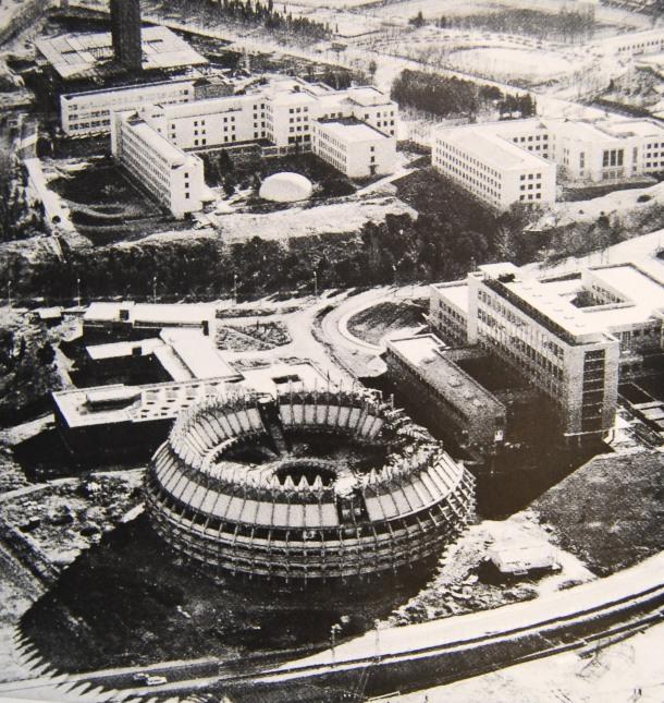 Virginia Duran Blog- La corona de Espinas IPC (Instituto Patrimonio Cultural)  by Fernando Higueras- aerial view