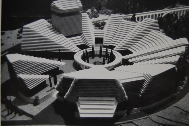 Virginia Duran Blog- La corona de Espinas IPC (Instituto Patrimonio Cultural) by Fernando Higueras- Maqueta