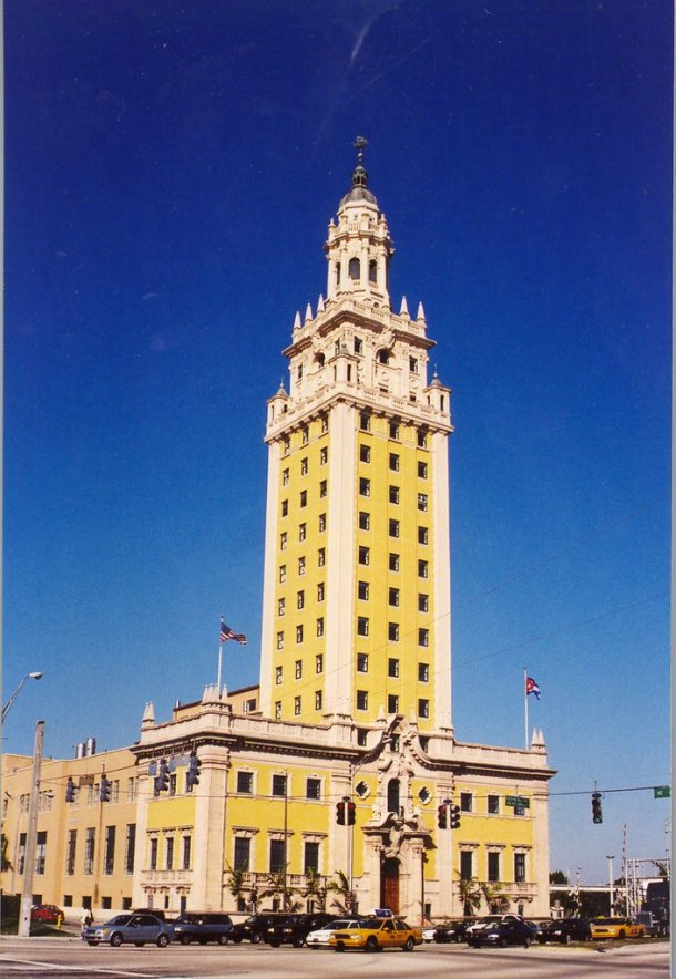 Virginia Duran Blog- 23 Spots You Shouldn't Miss in Miami If You Love Architecture- Freedom Tower by George A. Fuller, Schultze & Weaver-