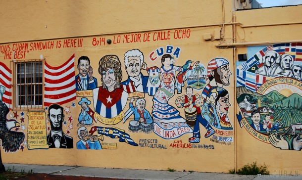 Virginia Duran Blog- 23 Spots You Shouldn't Miss in Miami If You Love Architecture- Little Havana- Mural