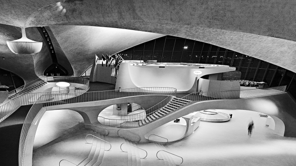 Virginia Duran Blog- Amazing Architectural Photography- Balthazar Korab- TWA Terminal by Eero Saarinen