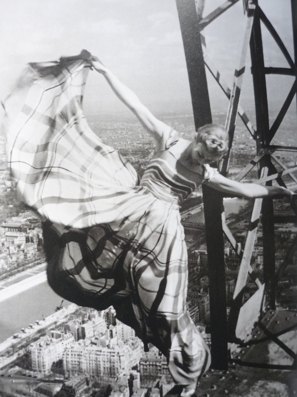 Virginia Duran Blog- Amazing Architectural Photography- Erwin Blumenfeld- Eiffel Tower