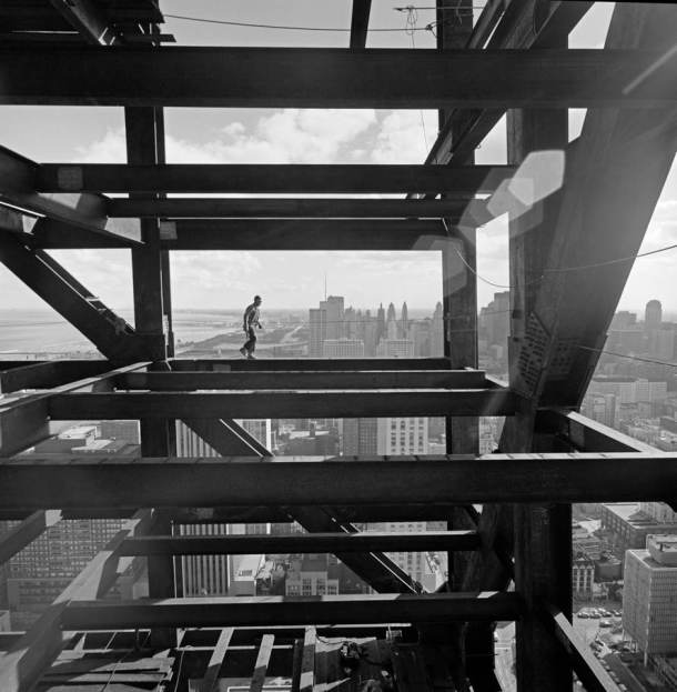 Virginia Duran Blog- Amazing Architectural Photography-Ezra Stoller-John Hancock Tower by SOM