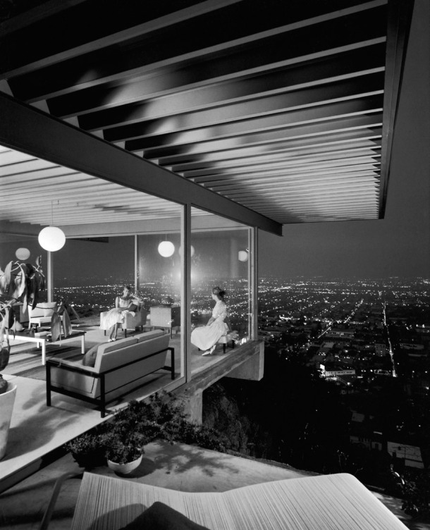 Virginia Duran Blog- Amazing Architectural Photography- Julius Shulman- Stahl House (Case Study House #22 by Pierre Koenig
