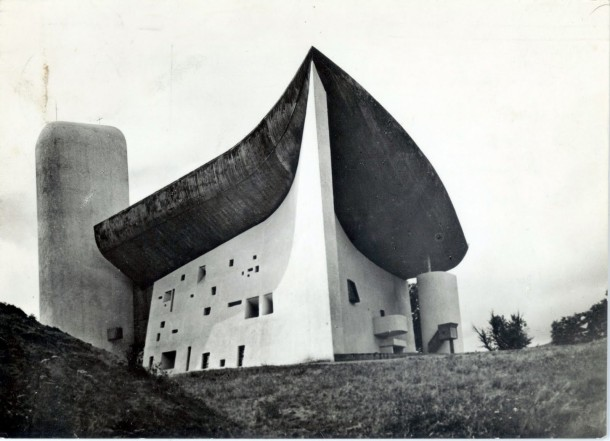 Virginia Duran Blog- Amazing Architectural Photography- Lucien Hervé-Notre Dame du Haut- Le Corbusier