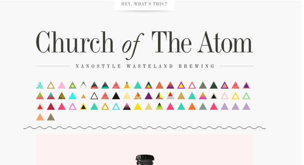 Virginia Duran Blog- Amazing UX UI Web Designs- Church of the Atom