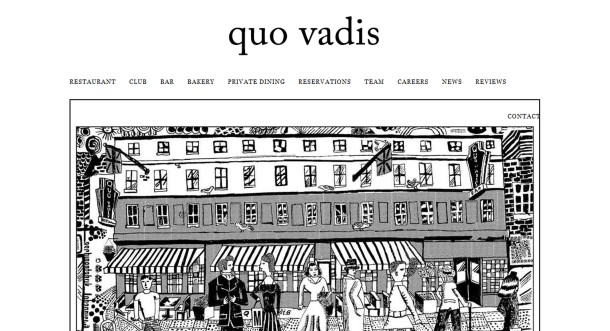 Virginia Duran Blog- Amazing UX UI Web Designs- Quo Vadis