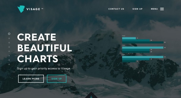 Virginia Duran Blog- Amazing UX UI Web Designs- Visage
