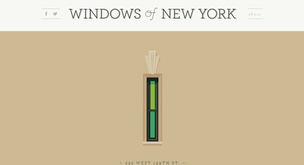 Virginia Duran Blog- Amazing UX UI Web Designs- Windows of New York