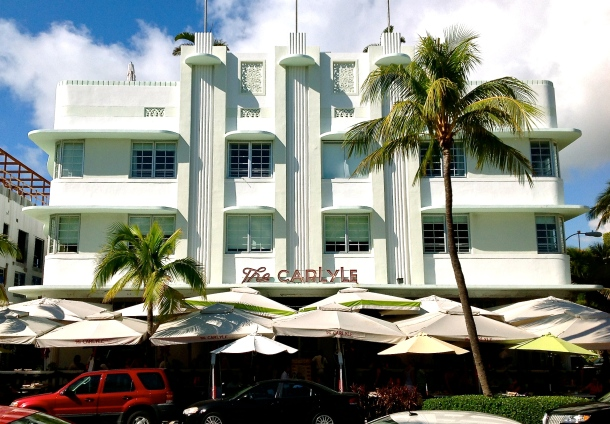 Virginia Duran Blog- Miami- The Best Art Deco Architecture- The Carlyle Hotel by Richard Kiehnel and John Elliot