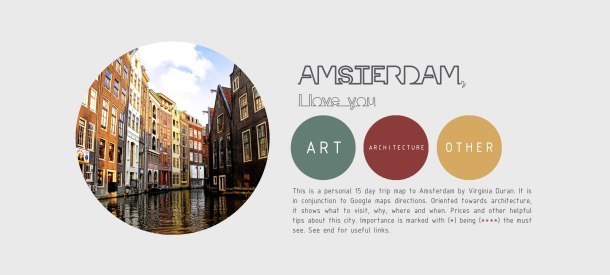 Virginia Duran Blog- Amsterdam Architecture Guide 2017 PDF