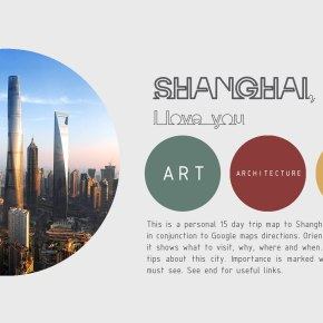The Free Architecture Guide of Shanghai (PDF)