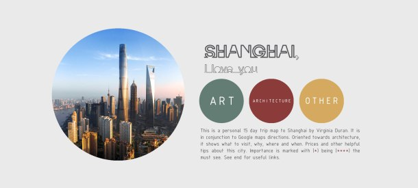 Virginia Duran Blog- Shanghai Architecture Guide 2017