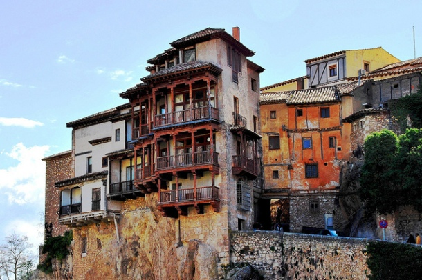 Virginia Duran Blog- Spanish Architecture- 3- Cuenca- Casas Colgantes-