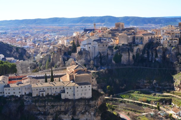 Virginia Duran Blog- Spanish Architecture- 3- Cuenca- Casas Colgantes--