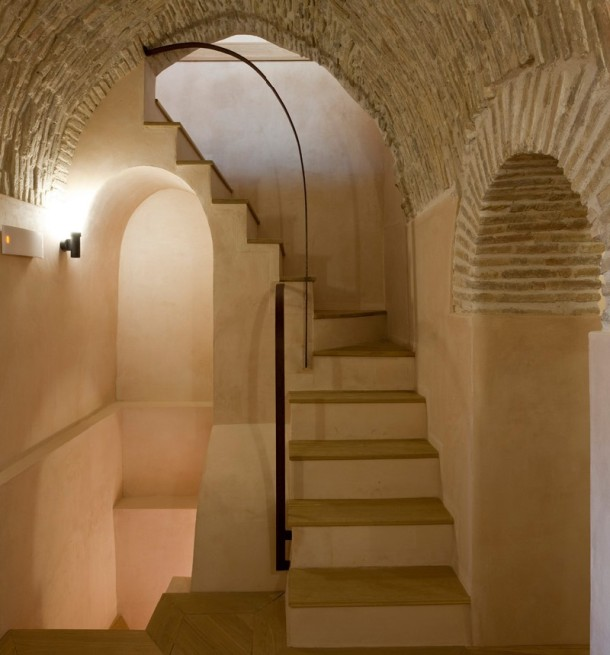 Virginia Duran Blog- Spanish Architecture- Almeria- Tower Restoration in Huercal-Overa by Castillo Miras Arquitectos- Interior
