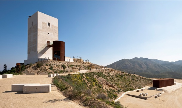 Virginia Duran Blog- Spanish Architecture- Almeria- Tower Restoration in Huercal-Overa by Castillo Miras Arquitectos
