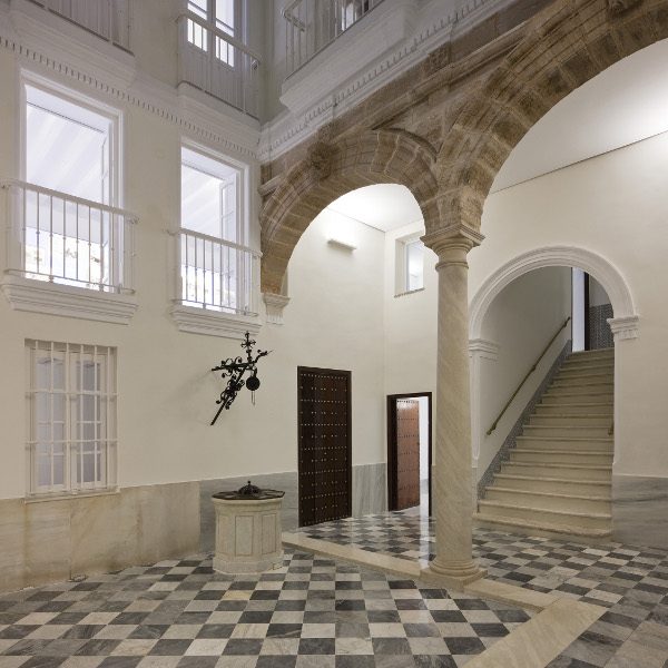 Virginia Duran Blog- Spanish Architecture- Cadiz- Casa Pinillos-Interior