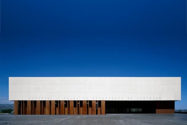 Virginia Duran Blog- Spanish Architecture- Castellon- Palacio de Congresos- Carlos Ferrater- Exterior