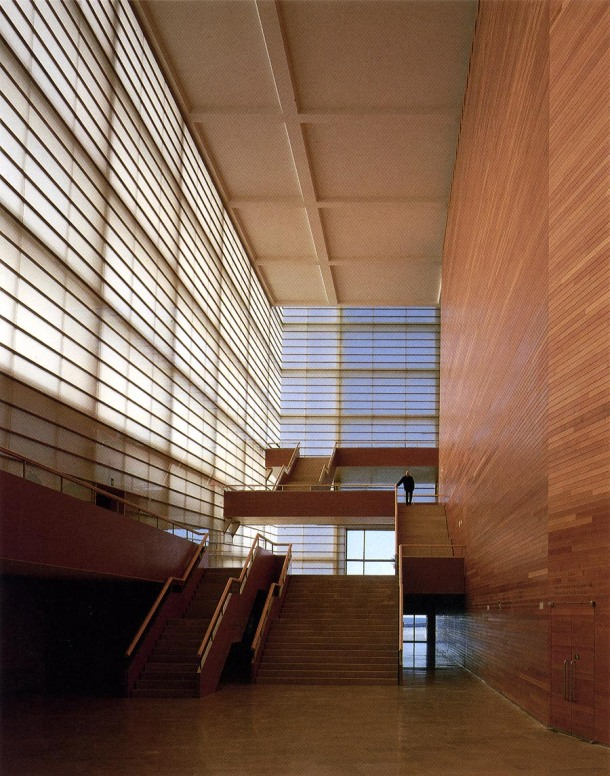 Virginia Duran Blog- Spanish Architecture- Gipuzcoa- Kursaal- Rafael Moneo-interior