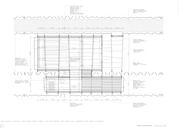 Virginia Duran Blog- Spanish Architecture- Girona- Les Cols Pavilions- RCR Arquitectes- Floor Plan