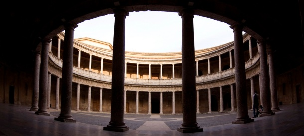 Virginia Duran Blog- Spanish Architecture- Granada- Alhambra- Interior- Palacio CArlos V