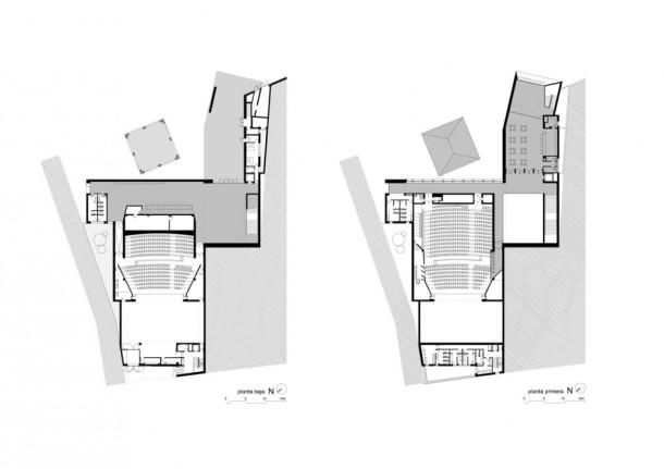 Virginia Duran Blog- Spanish Architecture- Huelva- Teatro Almonte en Huelva by Donaire Arquitectos- Plan
