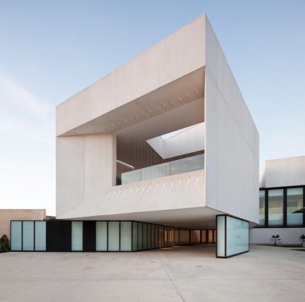 Virginia Duran Blog- Spanish Architecture- Huelva- Teatro Almonte en Huelva by Donaire Arquitectos