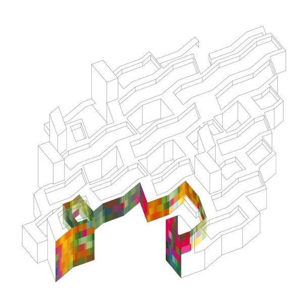 Virginia Duran Blog- Spanish Architecture- Leon- MUSAC- Color Diagram