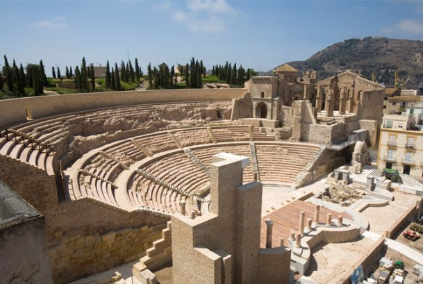 Virginia Duran Blog- Spanish Architecture- Murcia- Teatro Romano- Rafael Moneo- Forum