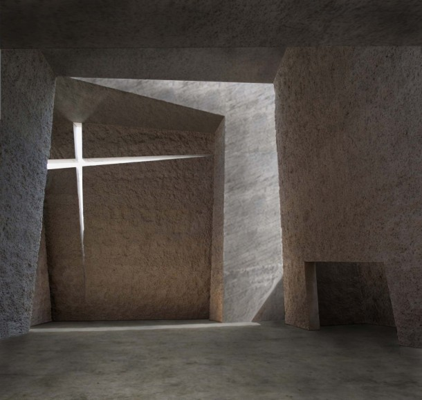 Virginia Duran Blog- Spanish Architecture- Santa Cruz de Tenerife- Iglesia del Santísimo Redentor by Menis Arquitectos- Interior