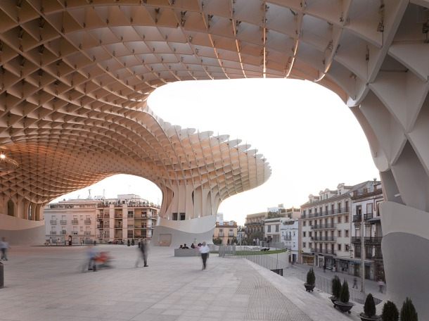 Virginia Duran Blog- Spanish Architecture- Seville- Metropol Parasol- Ground