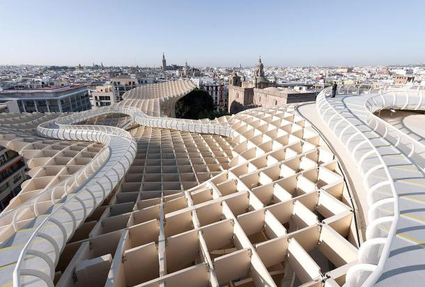 Virginia Duran Blog- Spanish Architecture- Seville- Metropol Parasol- Rooftop Views