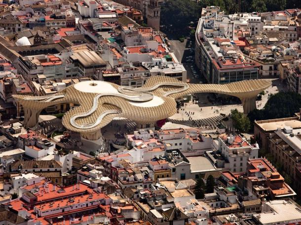 Virginia Duran Blog- Spanish Architecture- Seville- Metropol Parasol