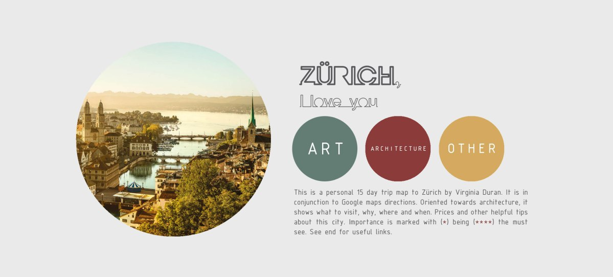 The Free Architecture Guide of Zürich (PDF)