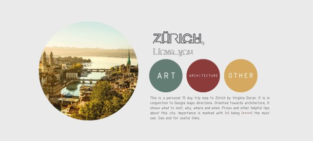 Virginia Duran Blog- ZURICH Architecture Guide 2017