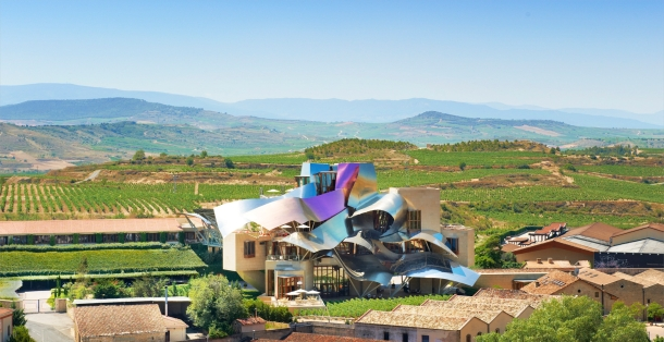 Virginia Duran Blog- Spanish Architecture- Alava- Marques de Riscal Winery Complex by Frank Gehry