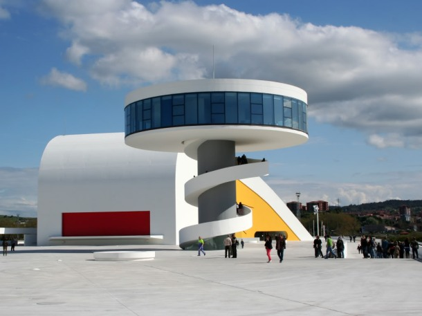 Virginia Duran Blog- Spanish Architecture- Asturias- Centro Cultural Niemeyer by Oscar Niemeyer