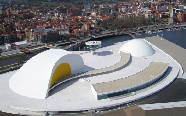 Virginia Duran Blog- Spanish Architecture- Asturias- Centro Cultural Niemeyer by Oscar Niemeyer-