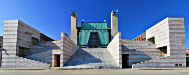 Virginia Duran Blog- Spanish Architecture- Cantabria- Palacio de Festivales de Santander- Francisco Javier Sáenz de Oiza
