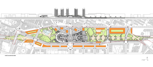 Virginia Duran Blog- Spanish Architecture- La Rioja- Estación de Trenes de Alta Velocidad en Logroño by Ábalos + Sentkiewicz arquitectos- Floor Plan