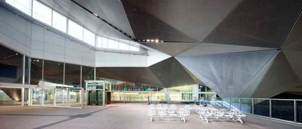 Virginia Duran Blog- Spanish Architecture- La Rioja- Estación de Trenes de Alta Velocidad en Logroño by Ábalos + Sentkiewicz arquitectos- Interior-