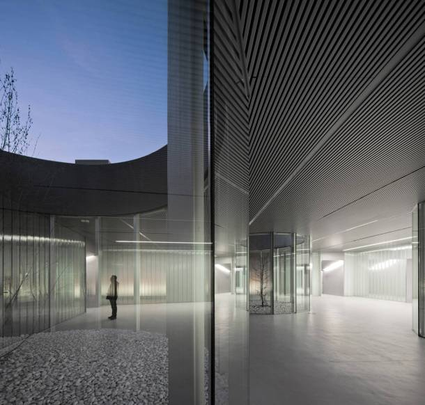 Virginia Duran Blog- Spanish Architecture- Palencia- Centro Cívico Cultural de Palencia by EXIT Architects- Interior