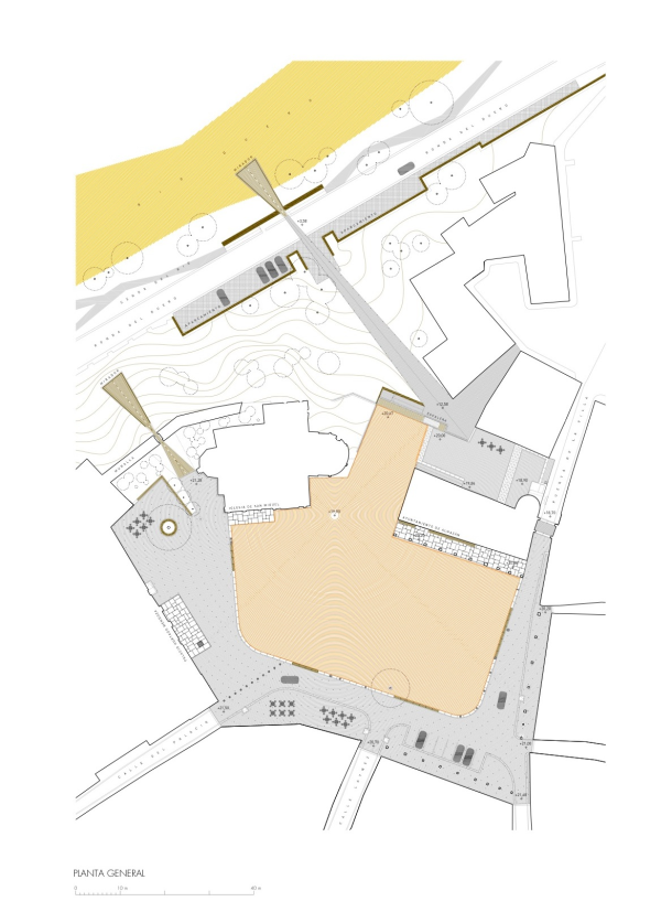 Virginia Duran Blog- Spanish Architecture- Soria- Plaza Mayor almazan - ch+qs arquitectos- Plan