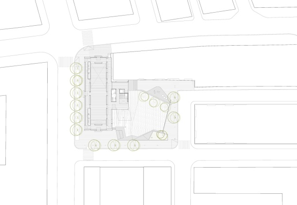 Virginia Duran Blog- Spanish Architecture- Tarragona- Centro Civico Ferreries by Arquitecturia- Floor Plan