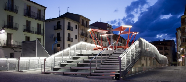 Virginia Duran Blog- Spanish Architecture- Teruel- Teruel-zilla by Mi5 Arquitectos + PKMN [pacman]- side