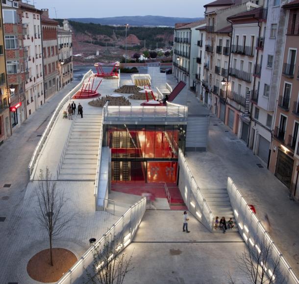 Virginia Duran Blog- Spanish Architecture- Teruel- Teruel-zilla by Mi5 Arquitectos + PKMN [pacman]